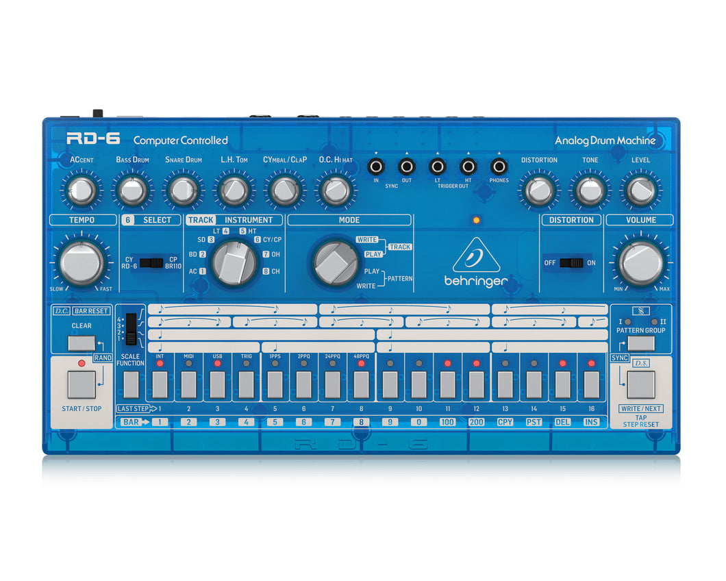 Behringer RD6 BB Analog Drum Machine