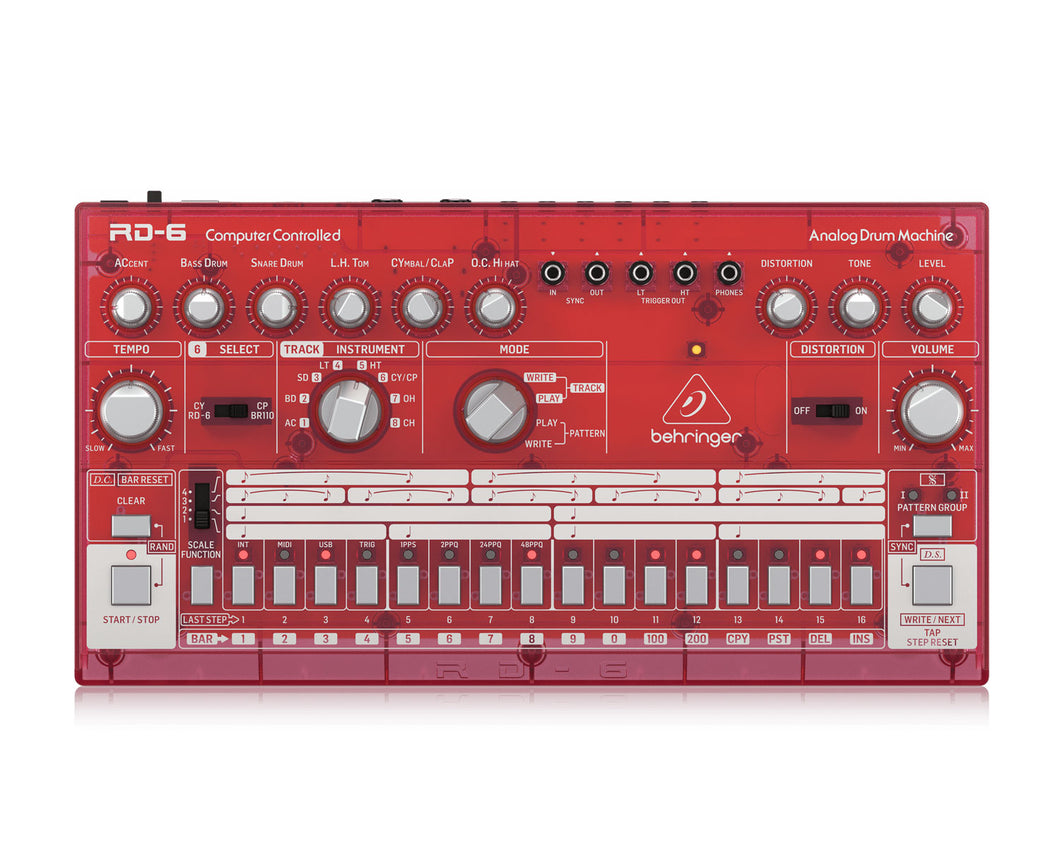 Behringer RD6 SB Analog Drum Machine
