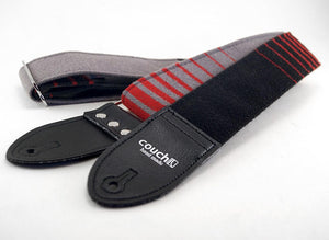 Couch Straps Red & Black Cloth