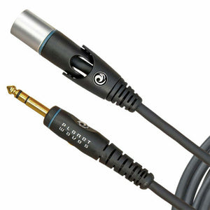 "D'Addario PW-GMMS-10 Planet Waves Custom Series XLR Male to 1/4"" 10 ft Microphone Cable"