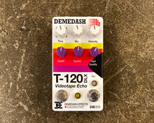 Load image into Gallery viewer, Demedash Effects T120 Deluxe Videotape Echo V2