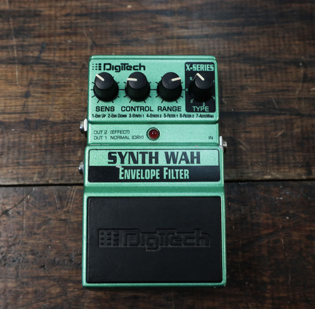 Digitech X Series Synth Wah Envelope Filter