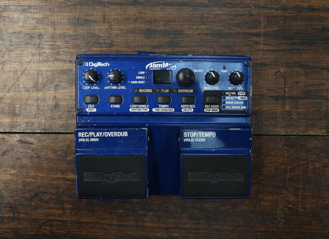 DigiTech JamMan Looper/Phrase Sampler + Footswitch