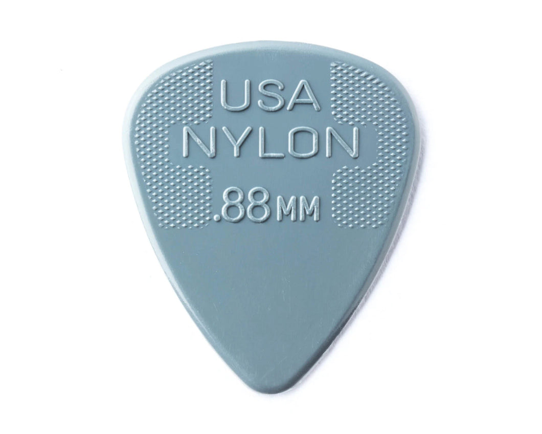 Dunlop Nylon Standard Pick .88 (Pack of 12)