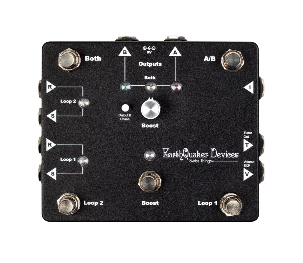 EarthQuaker Devices Swiss Things Pedalboard Reconciler
