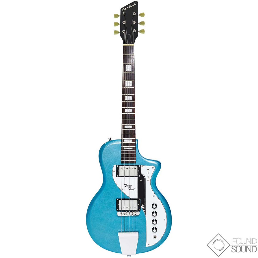 Eastwood Airline Twin Tone - Metallic Blue