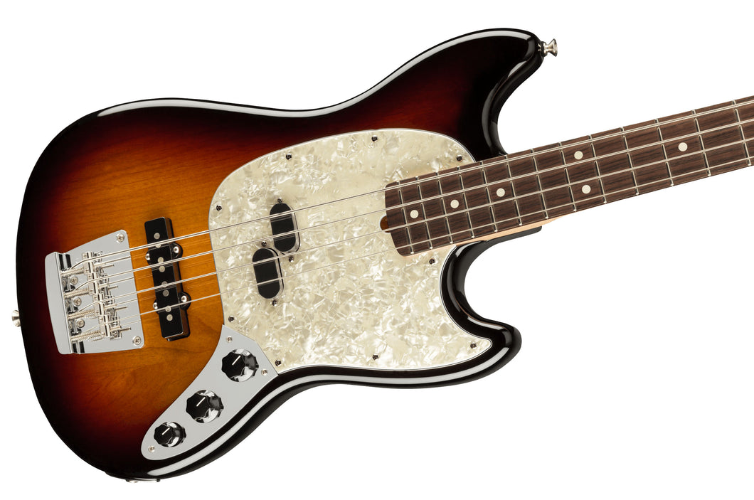 Fender American Performer Mustang Bass - 3 Colour Sunburst