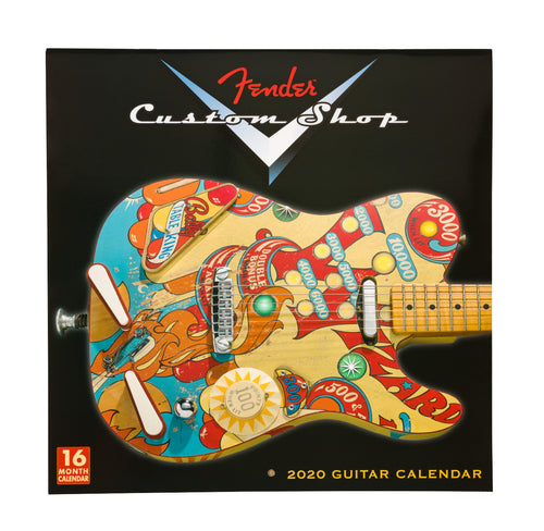 Fender 2020 Custom Shop Calendar