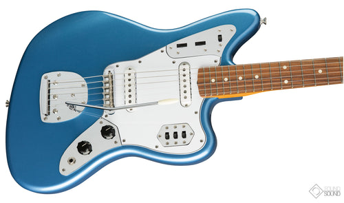 Fender Classic '60s Jaguar Lacquer - PF Lake Placid Blue