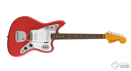 Fender Classic '60s Jaguar Lacquer - PF Fiesta Red