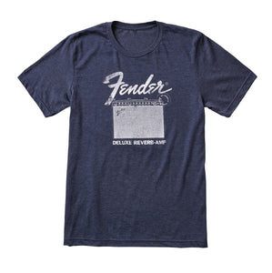 Fender Deluxe Reverb T-Shirt Blue Large