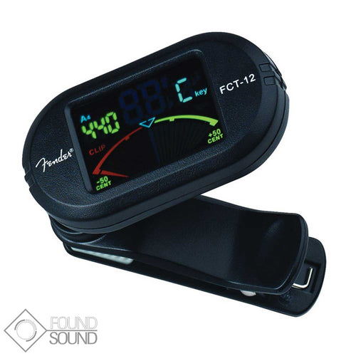 Fender FCT-12 Clip On Tuner (Colour LCD)
