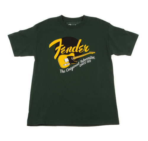 Fender Original Tele T-Shirt Green Medium