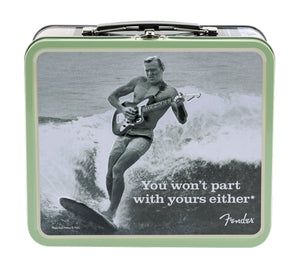 "Fender Lunchbox, ""You Won't Part With Yours Either"" With Accessories"
