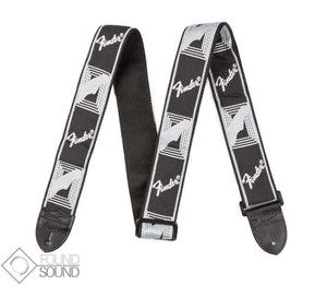 Fender Monogrammed Strap Black/Light Grey/Dark Grey