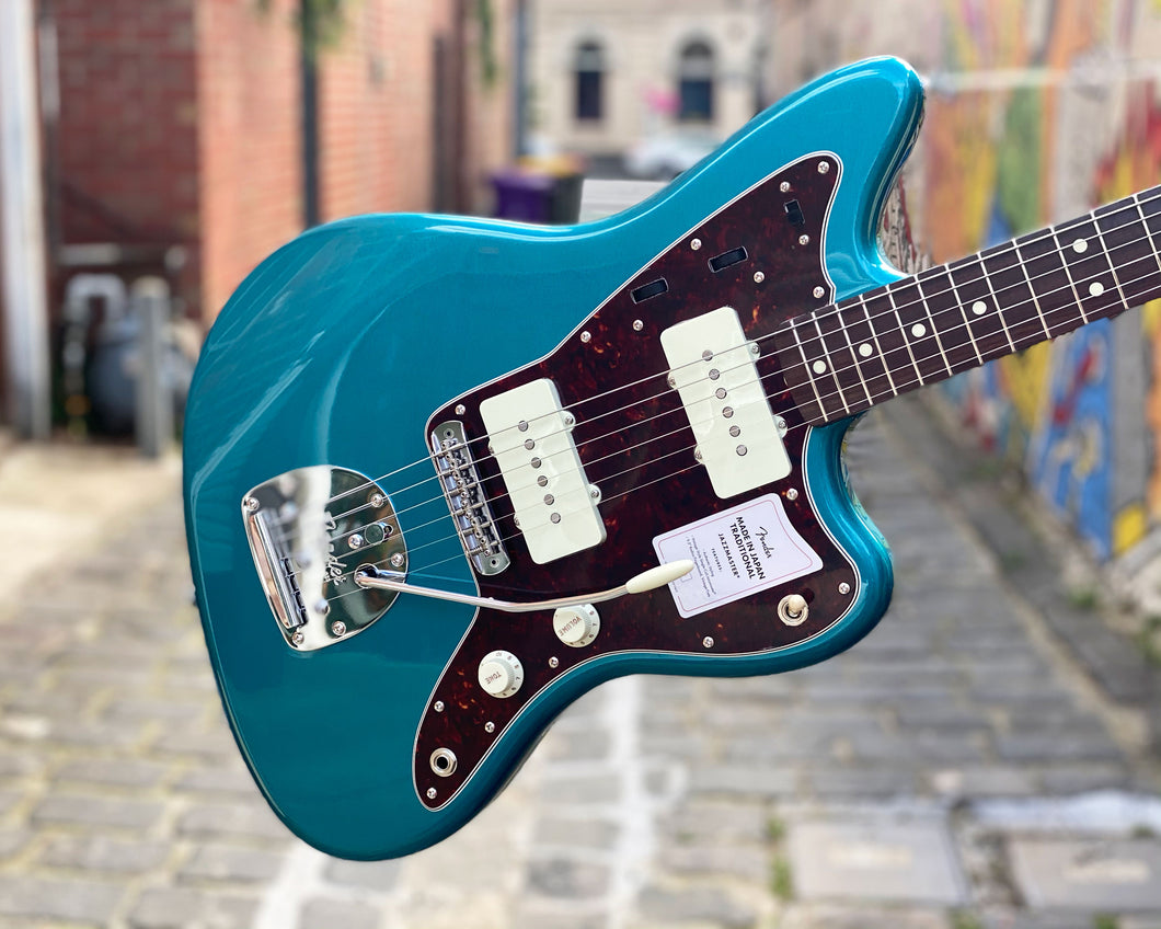 Fender 2020 Collection Made in Japan Traditional '60s Jazzmaster - Ocean Turquoise Metallic