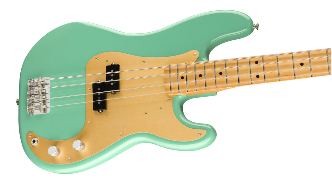 Fender Vintera '50s Precision Bass Maple Sea Foam Green