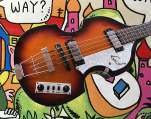 Hofner B Bass Hi Series
