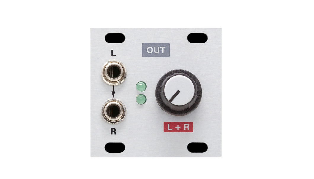 Intellijel Stereo Line Out 1U