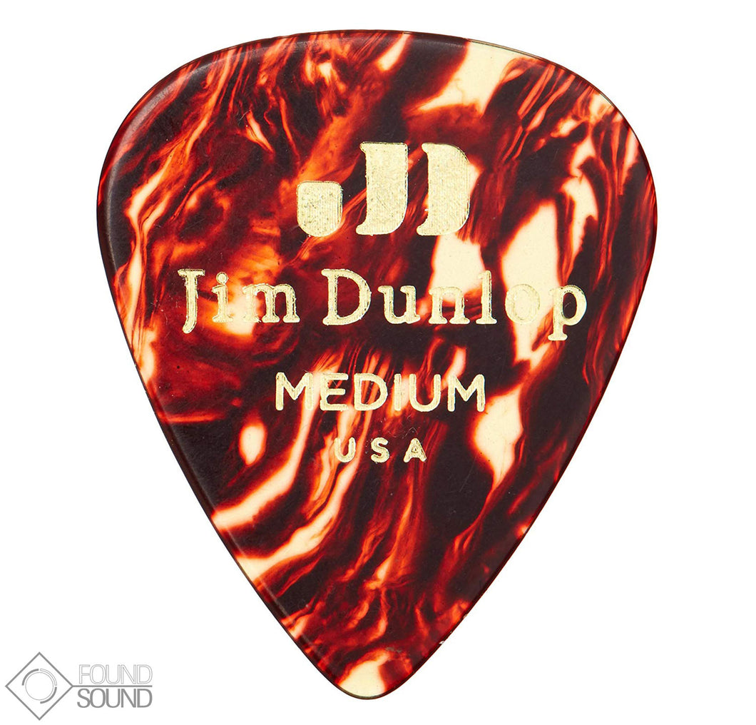 Jim Dunlop Shell Classics Medium Pick