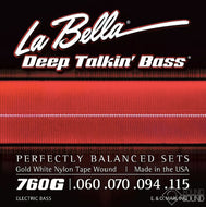 La Bella 760G Deep Talkin' Bass Flats