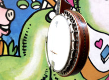 Load image into Gallery viewer, Ludwig Kingston 4-String Tenor Banjo