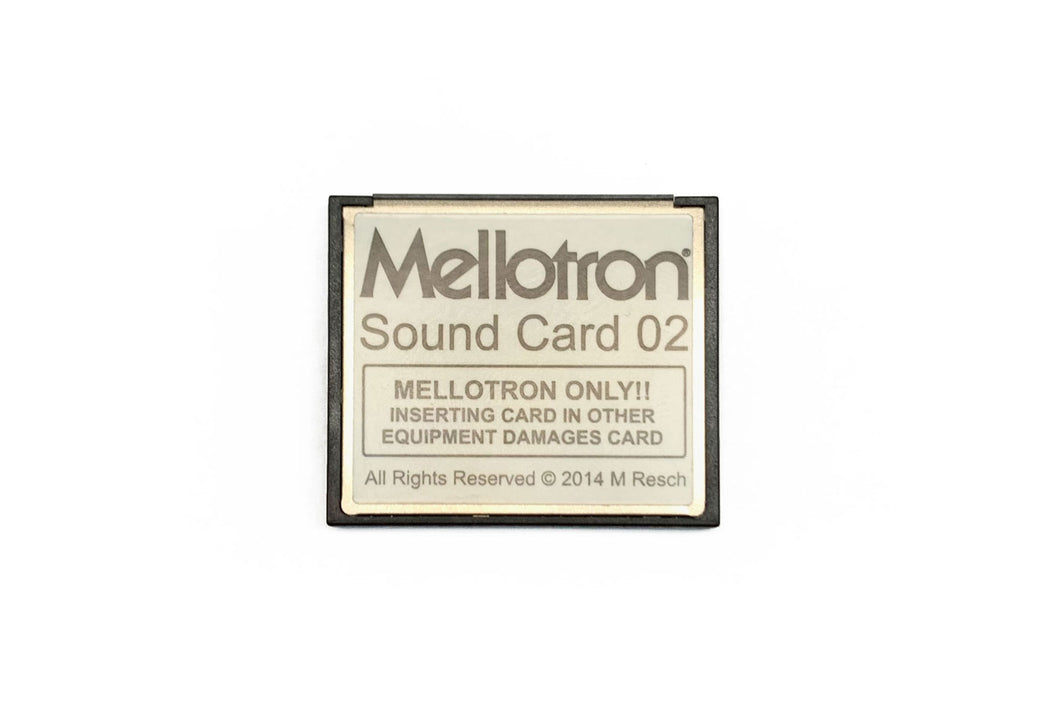 Mellotron Sound Card  02