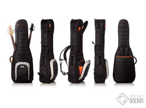 Mono Standard Dual Bass Case - Black