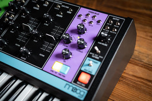 Moog Matriarch Patchable 4-note Paraphonic Analogue synthesiser