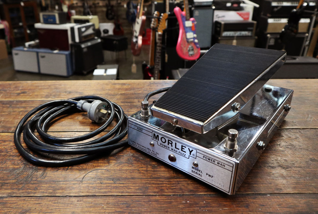 Morley PWF Power Wah Fuzz