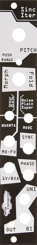 Noise Engineering Sinc Iter Black/ Blind Panel