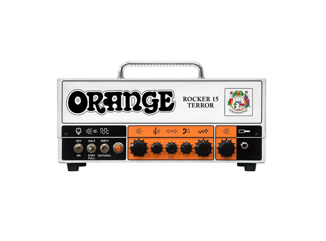 Orange Rocker 15 Terror Guitar Valve Head