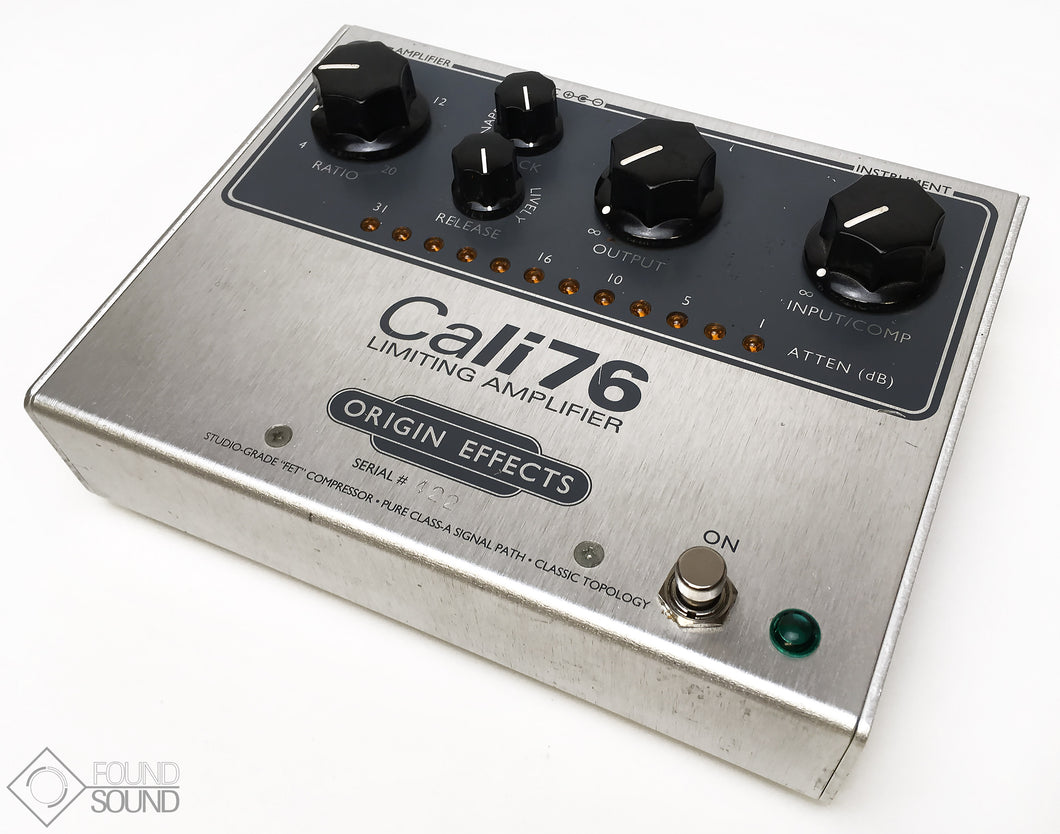 Origin Effects Cali76 Limiting Amplifier