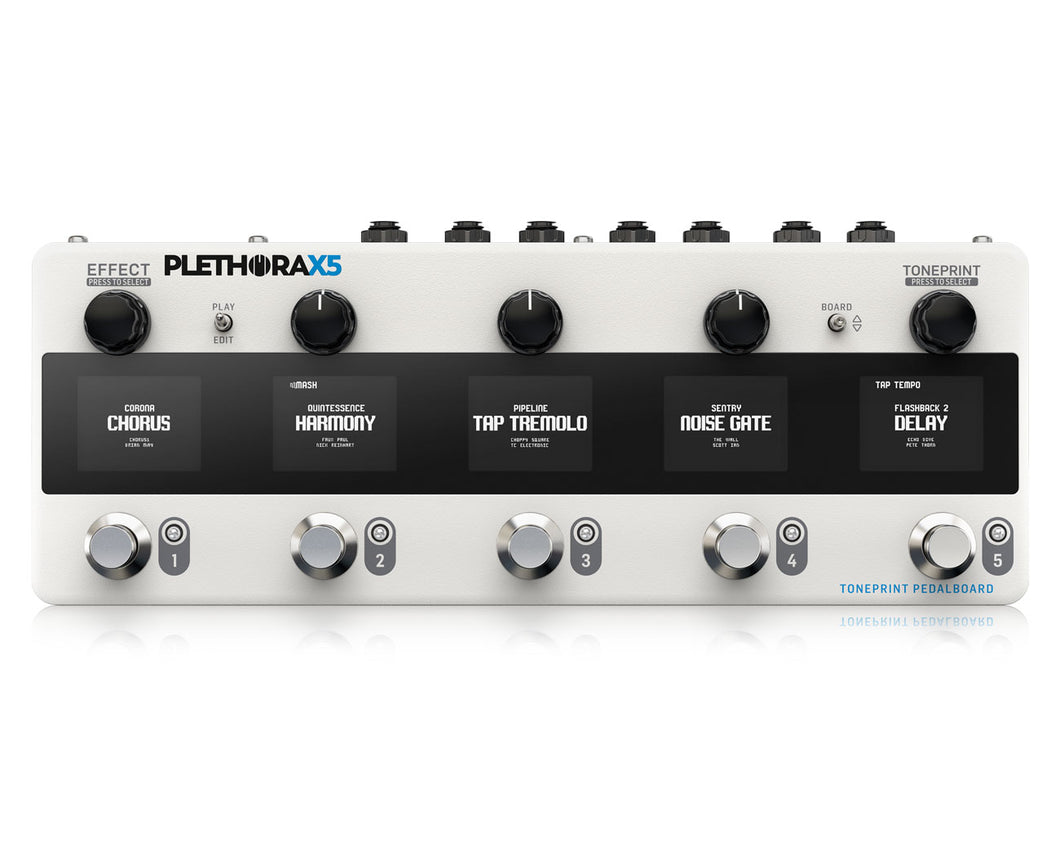 TC Electronic Plethora X5 Effects Processor