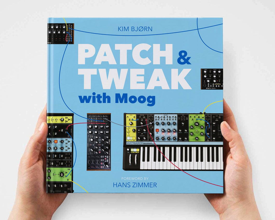 Bjooks PATCH & TWEAK with Moog