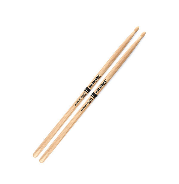 Promark 7A American Hickory Drumsticks (Wooden Tip)