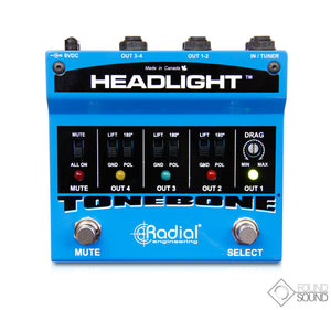 Radial Headlight Amp Switcher