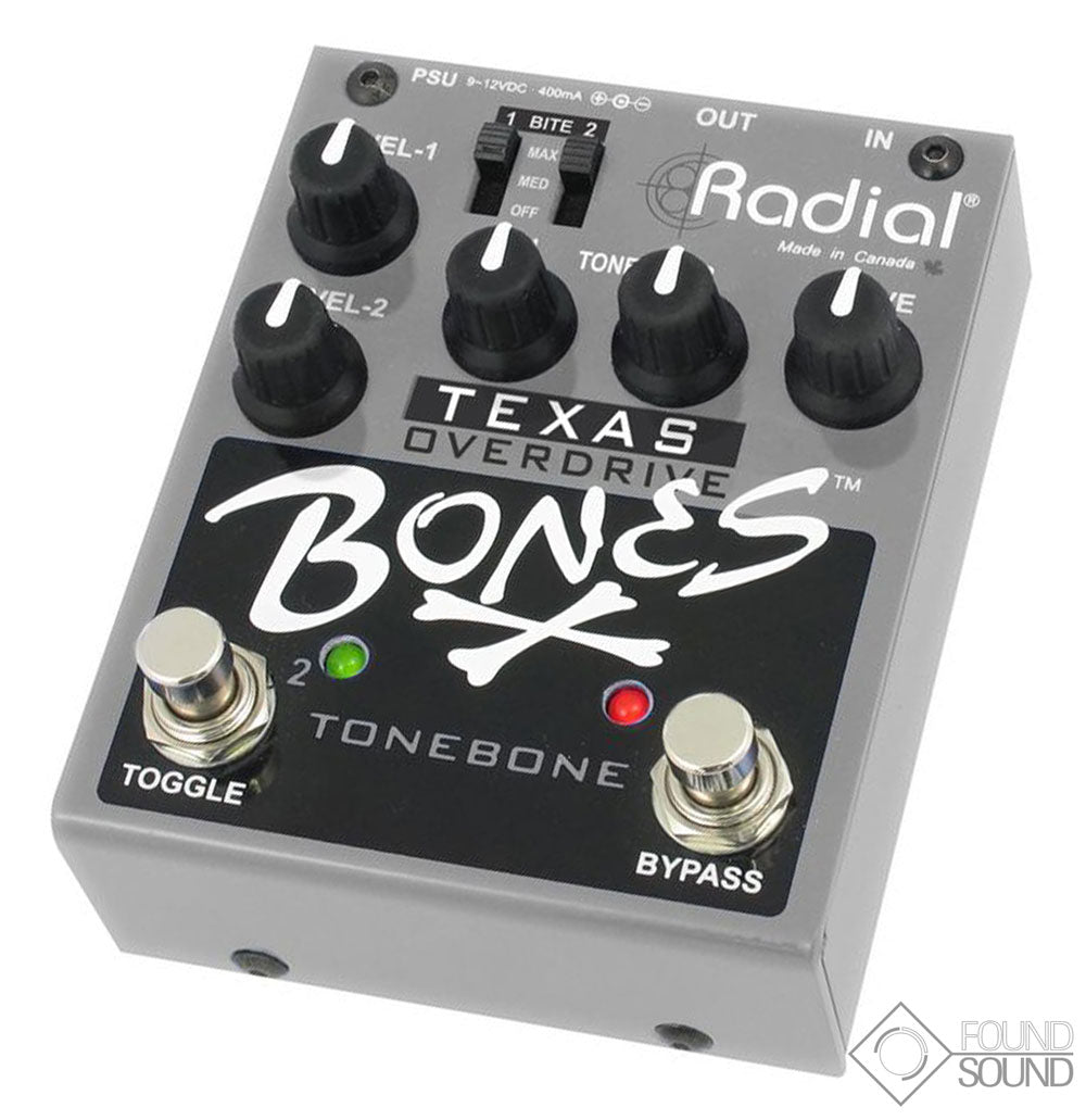 Radial Texas Bones Dual Mode Overdrive