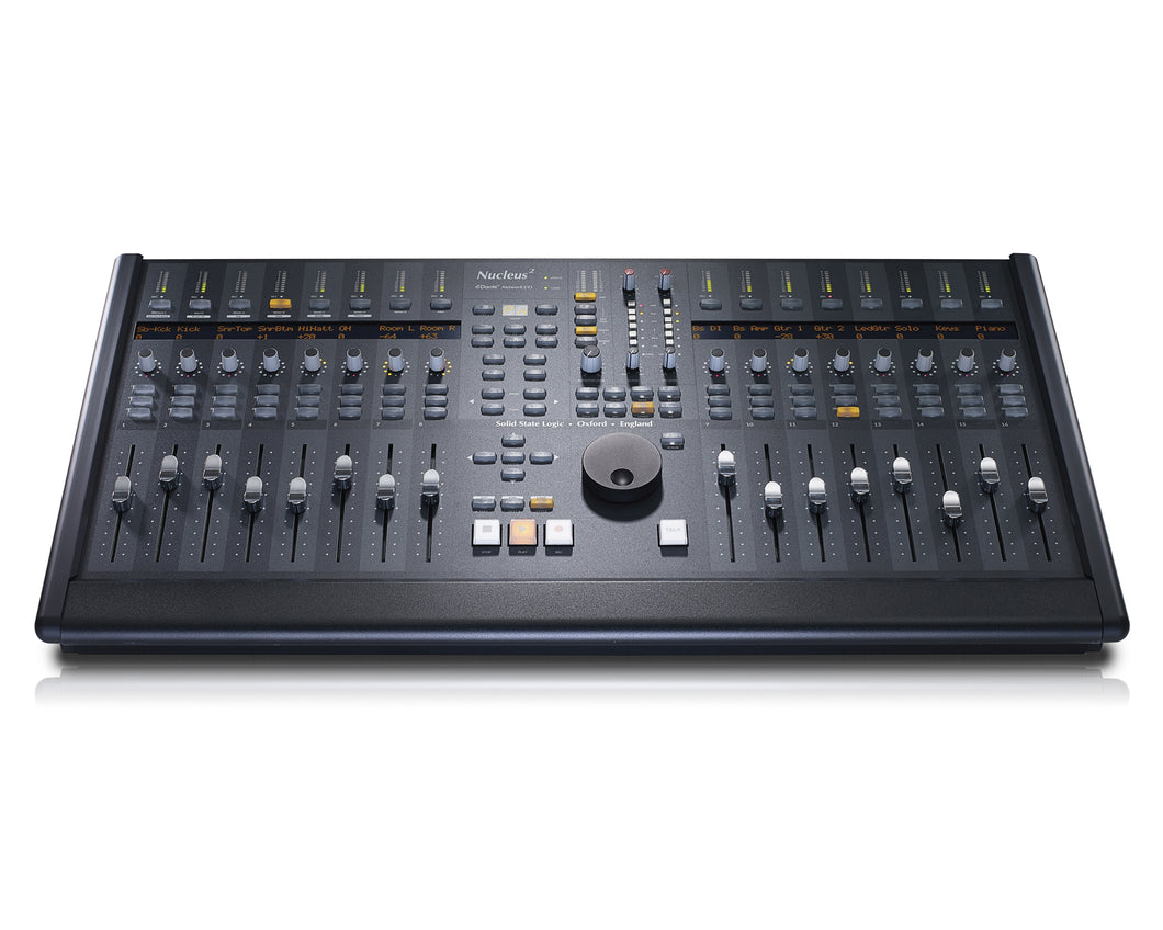 SSL Nucleus2 DAW Controller & Audio Hub - Dark surface