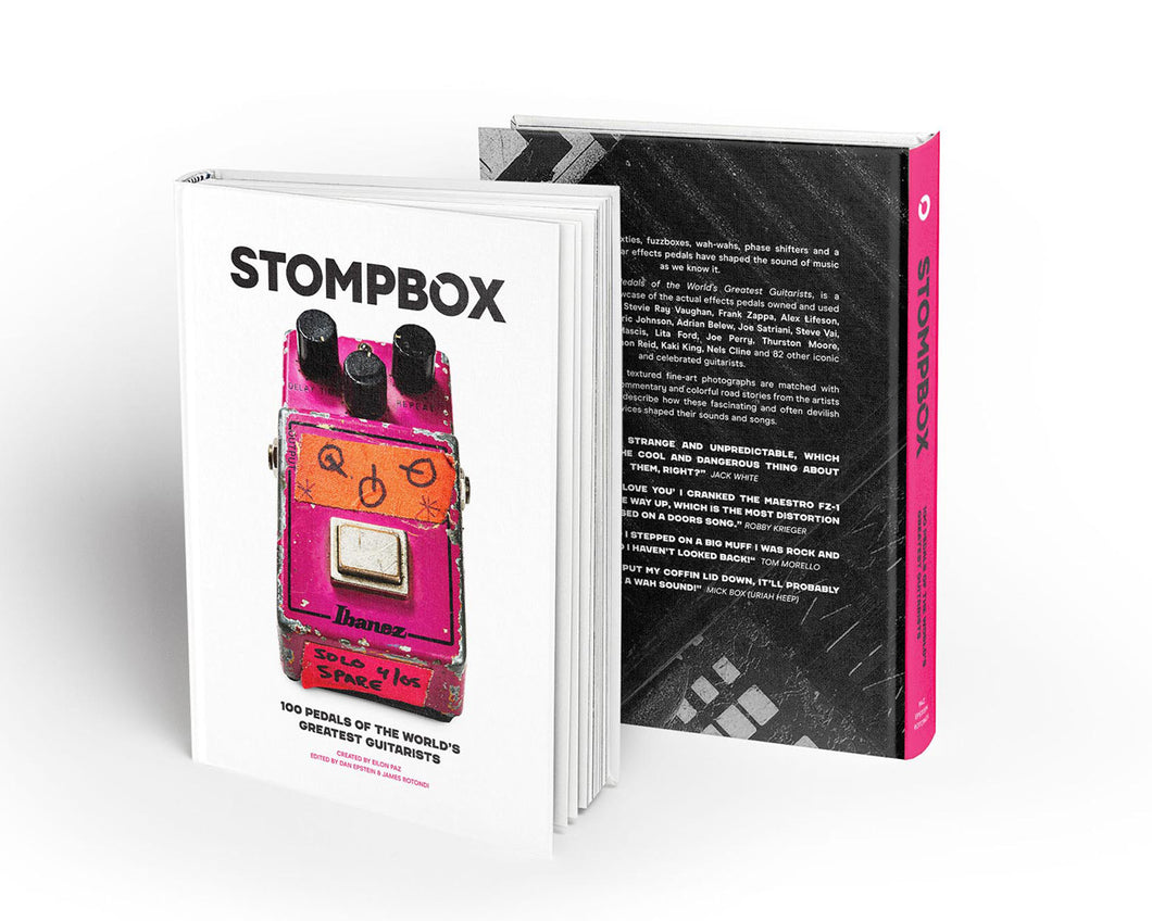 Stompbox Stompbox: 100 Pedals of the World's Greatest Guitarists