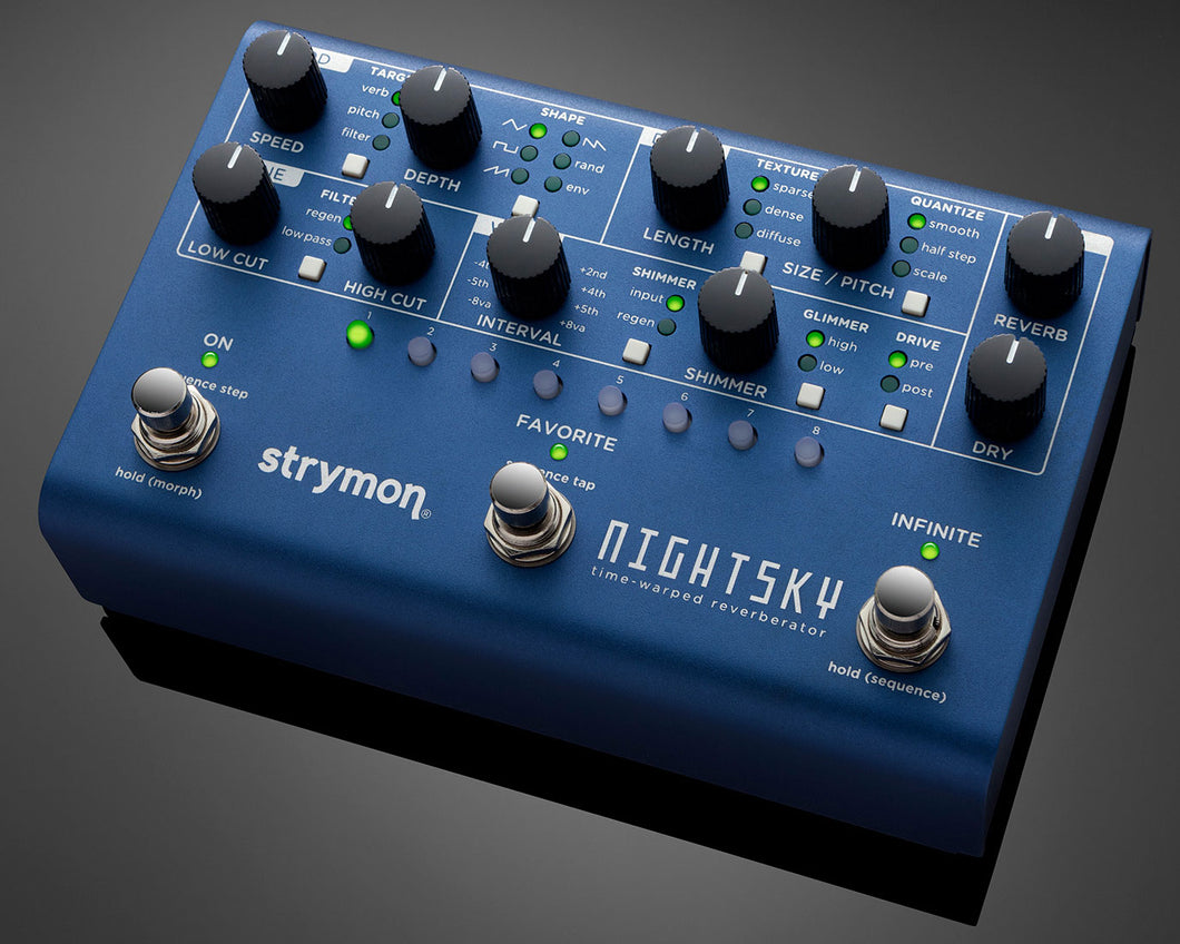 Strymon Night Sky Time-Warped Reverberator