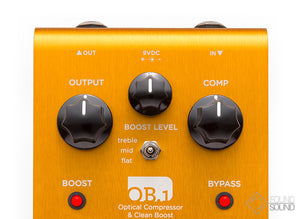 Strymon OB.1 Optical Compressor & Clean Boost Bass Guitar Mod