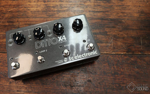 TC Electronic Ditto Looper X4