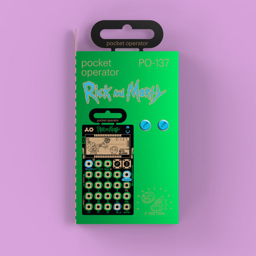 Teenage Engineering PO-137 Rick and Morty Edition