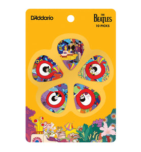 D'Addario The Beatles Yellow Submarine 10 Light Picks