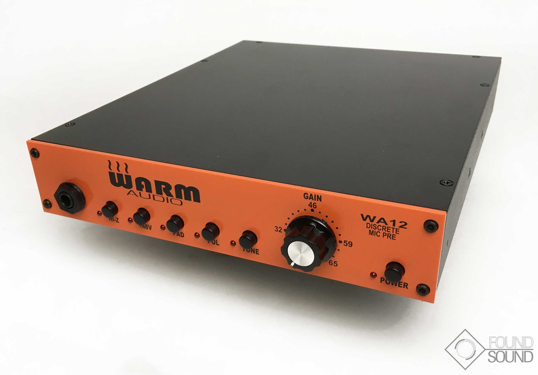 Warm Audio WA12 Discrete Mic Preamp