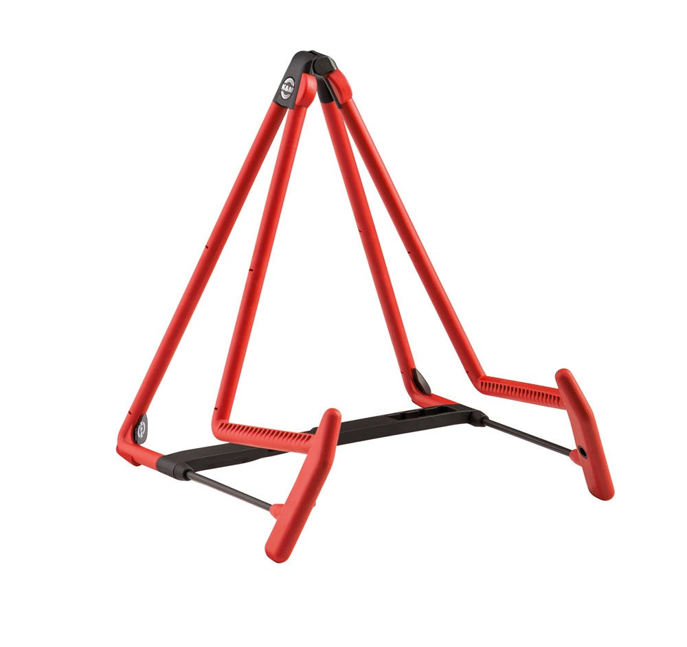 König & Meyer 17580 Red Heli-2 Acoustic Guitar Stand