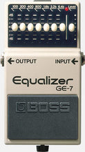 Load image into Gallery viewer, BOSS GE-7 Equalizer
