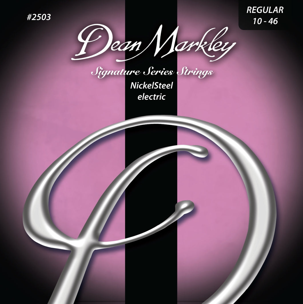 Dean Markley NickelSteel Electric™