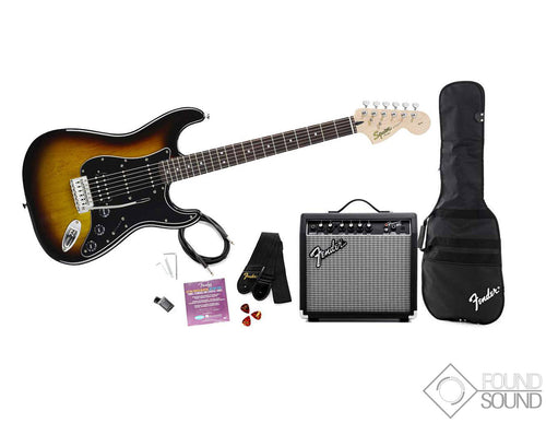 Fender Squier Affinity Series Stratocaster HSS Pack